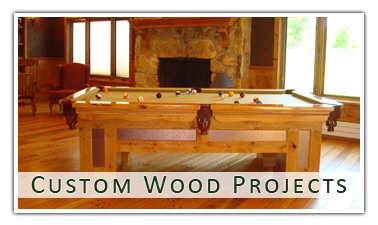 custom wood projects